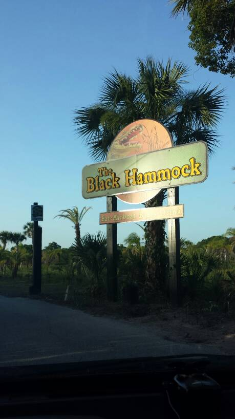 The Black Hammock Entrance